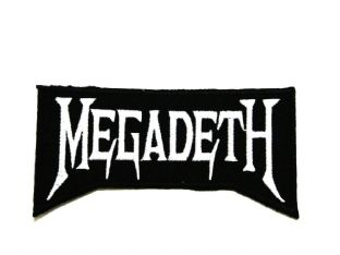 Megadeth - Sew On Patch